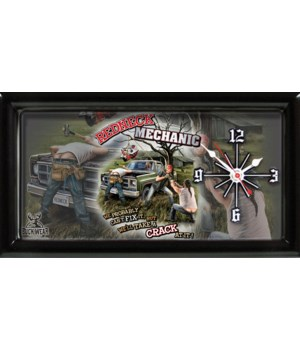 REDNECK MECHANIC CLOCK # 4