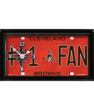 C BROWNS CLOCK