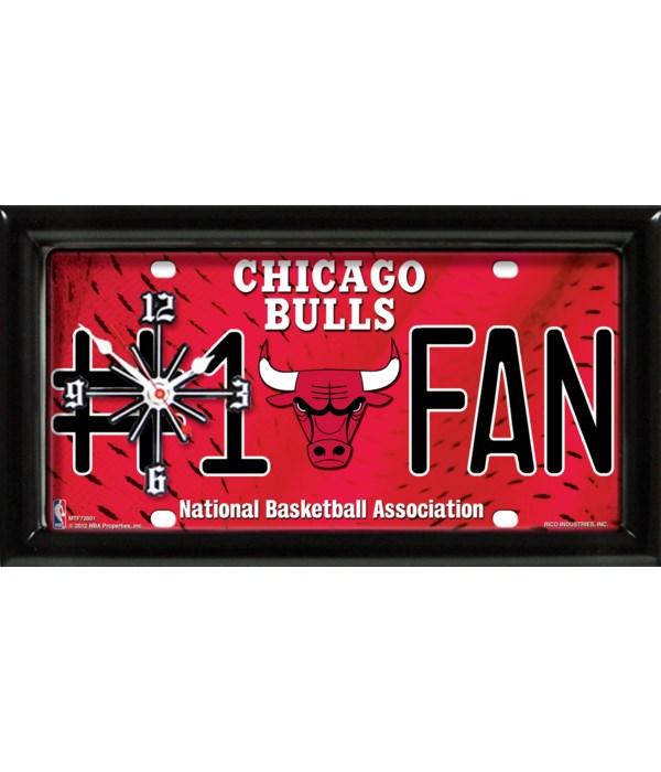 CHICAGO BULLS  CLOCK