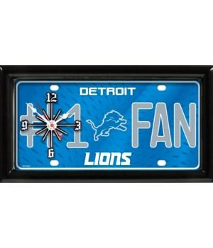 Detroit Lions Clock