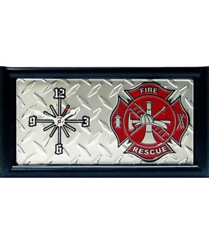 FIRE DEPT DIAMOND CLOCK