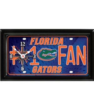 FL GATORS  CLOCK