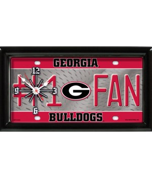 G BULLDOGS CLOCK