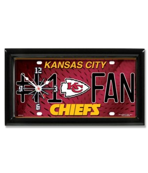 KC CHIEFS  CLOCK