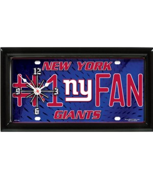 NEW YORK GIANTS NFL CLOCK