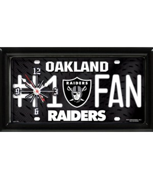 OAK RAIDERS CLOCK