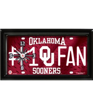 OK SOONERS CLOCK