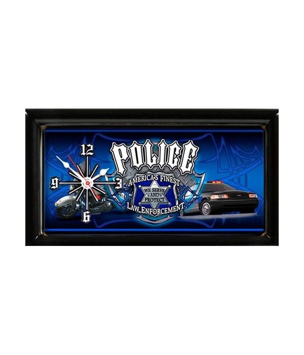 Police Clock