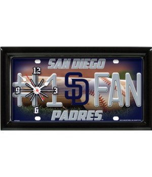 SD PADRES CLOCK