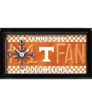 TENN VOLS CLOCKS