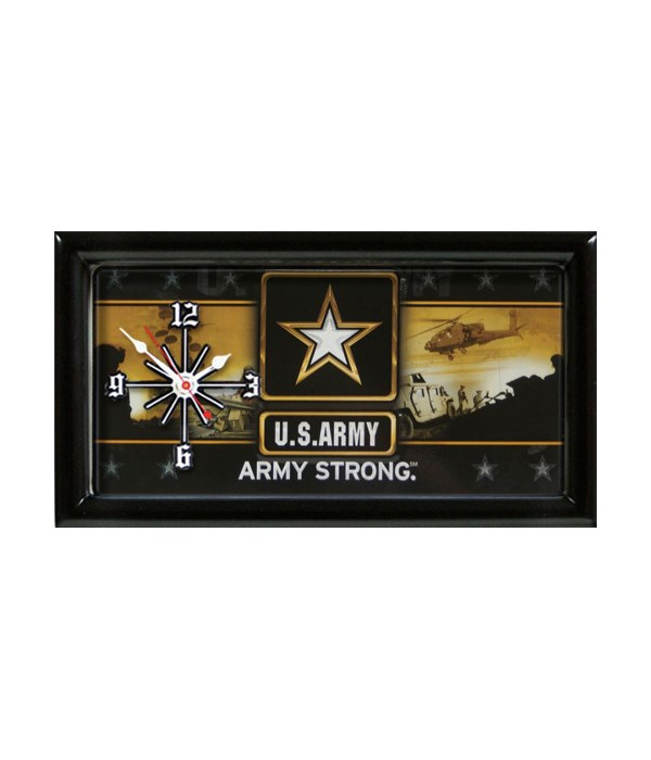 UNITED STATE ARMY CLOCK-New View