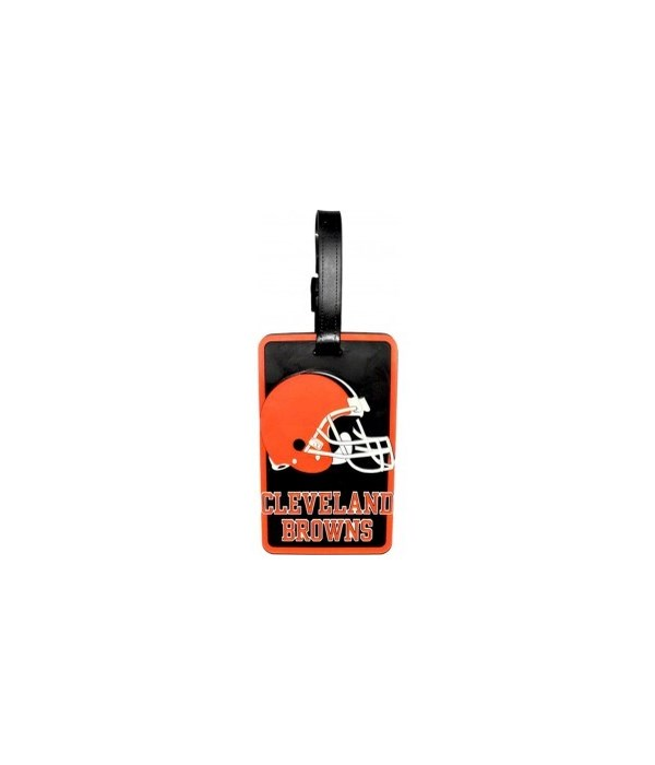 CLEV BROWNS LUGGAGE TAG