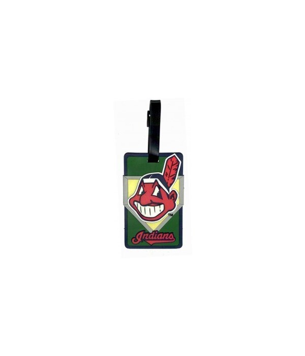CLEV INDIANS LUGGAGE TAG