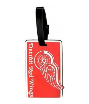 DET REDWINGS LUGGAGE TAG