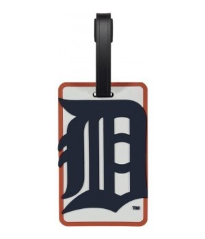 DET TIGERS LUGGAGE TAG