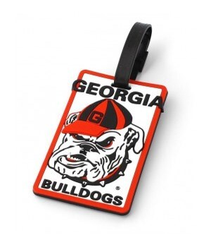 GA BULLDOGS LUGGAGE TAG