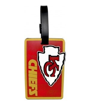 KC CHIEFS LUGGAGE TAG