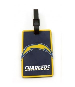 LA CHARGERS LUGGAGE TAG