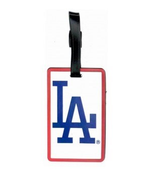 LA DODGERS LUGGAGE TAG