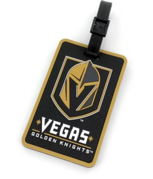 LAS VEGAS GOLDEN KNIGHTS LUGGAGE TAG