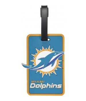 MIA DOLPHINS LUGGAGE TAG