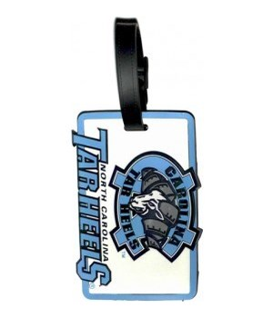 NC TARHEELS LUGGAGE TAG