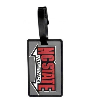 NC STATE WOLFPACK LUGGAGE TAG