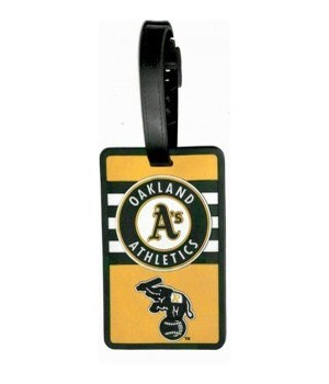 OAK A'S LUGGAGE TAG