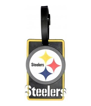 PITT STEELERS LUGGAGE TAG