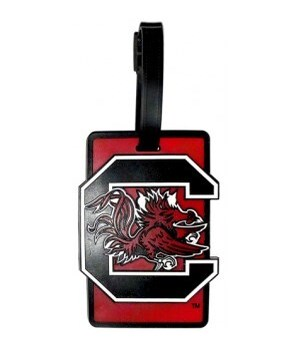 SC GAMECOCKS LUGGAGE TAG