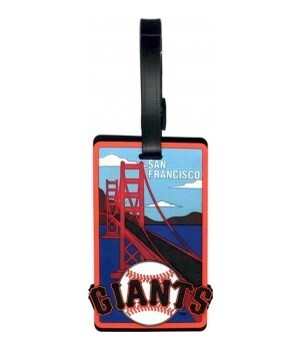 SF GIANTS LUGGAGE TAG