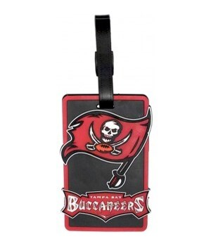 TB BUCS LUGGAGE TAG