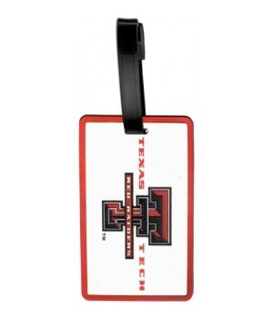 TEXAS TECH LUGGAGE TAG