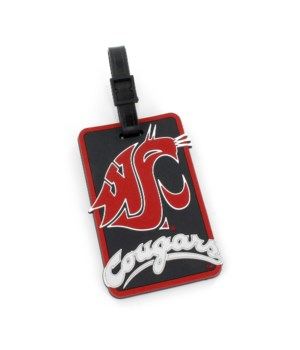 WASH STATE COUGARS LUGGAGE TAG