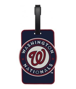 WASH NATIONALS LUGGAGE TAG