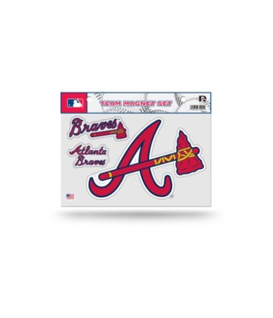 MAGNET SET - ATL BRAVES