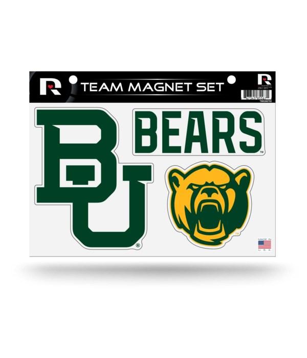 MAGNET SET - BAYLOR BEARS