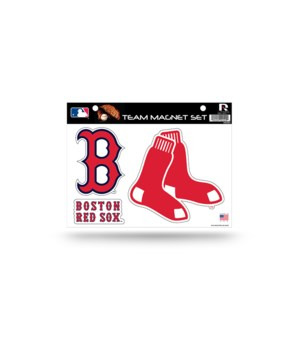 MAGNET SET - BOS RED SOX
