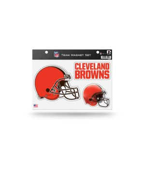 MAGNET SET - CLEV BROWNS