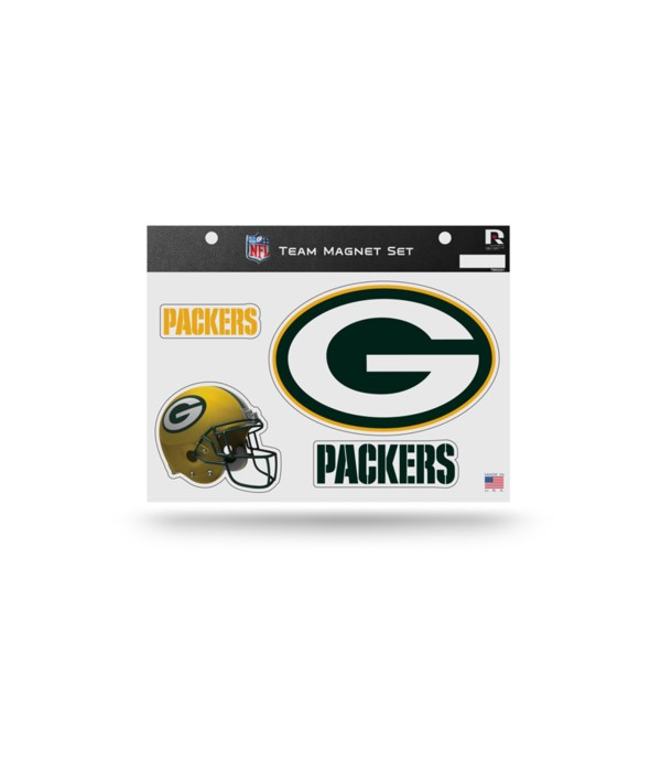 MAGNET SET - GREEN BAY PACKERS