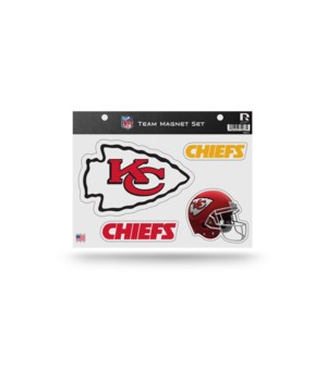 MAGNET SET - KC CHIEFS