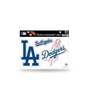 MAGNET SET - LA DODGERS