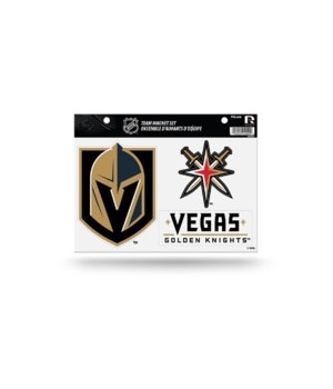 MAGNET SET - LAS VEGAS GOLDEN KNIGHTS