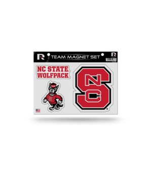 MAGNET SET - NC STATE WOLFPACK