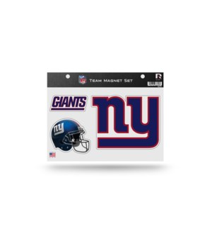 MAGNET SET - NY GIANTS