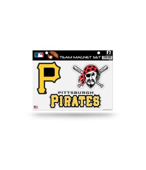MAGNET SET - PITT PIRATES