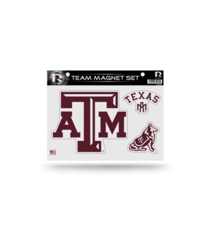 MAGNET SET - TEXAS A&M