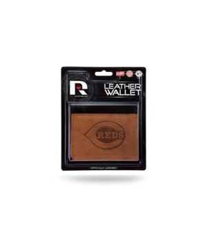 MANMADE LEATHER WALLET  - CINN REDS