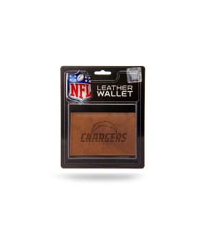 MANMADE LEATHER WALLET - LA CHARGERS