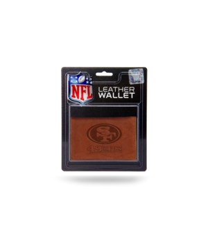MANMADE LEATHER WALLET - SF 49ERS